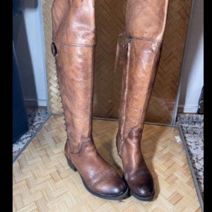 Vince Camuto Womens Round Toe Riding Boots US 36.5